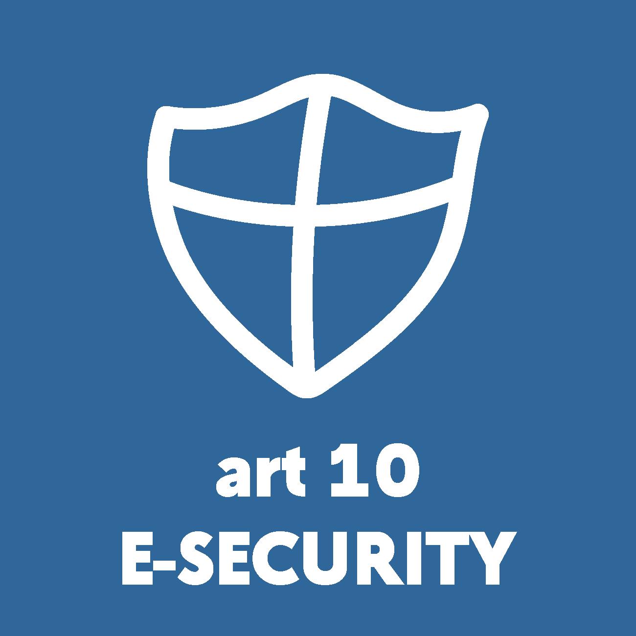 Art 10 e-security